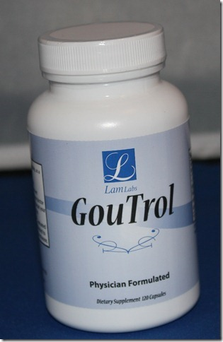 GouTrol treat gout naturally